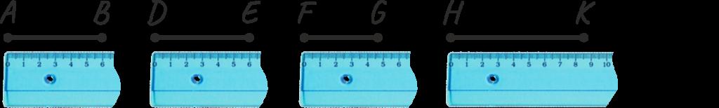 Как измерять длину отрезка